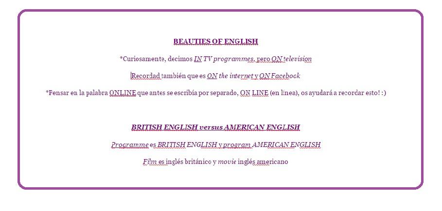 BEAUTIS OF ENGLISH